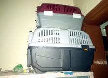Two cat cages for sale