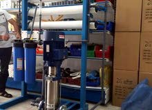 تركيب وصيانة محطات تحليه المياه. وكذالك صيانة وتركيل مصانع المياه.