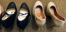 للبيع احذية نسائية ماركه جديد ومستعمل