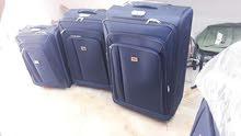 طاقم حقائب سفر 3 قطع  جودة وخامة ممتازة    المكان ط