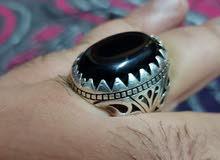 خاتم فضه للبيع بسعر مغري