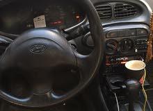 سيارة هونداي افانتي موديل 97 مع فتحة بالسقف