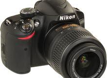 nikon d3200 مع عدسة 70-300