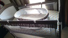 Baby bed with matrees 120*80