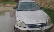 هوندا سيفك مديل 2002 لون ذهبي قوى 16 تيبي كمبيو
