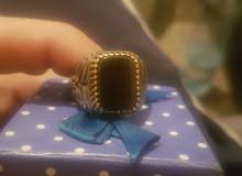خاتم فضه 925 ثقيل للبيع