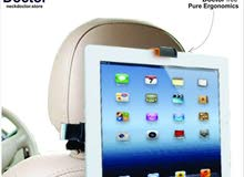 Adjustable ipad/Tablet mount for car headrest- NeckDoctor DRIVE