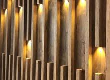 نجار شامل. أعمال منجرة خشبية لتنفيذ جميع الأعمال الخشبية واعمال الديكور والأثاث