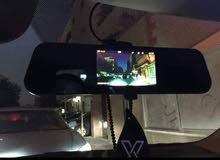 كاميرا أمامية وخلفية للسيارة لتسجيل الطريق