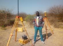 مهندس مساحي يجيد استخدم كل الأجهزة المساحية الخرطوم