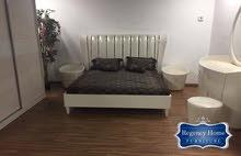 غرفة نوم راقية جديدة بتصميم مميز