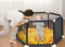 حاجز لعب وحماية الطفل