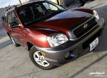 Automatic Red Hyundai 2003 for sale
