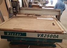 ماكنة راوتر CNC لحفر الخشب