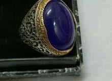 خاتم فضة تركي