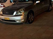 Used condition Lexus LS 2003 with +200,000 km mileage