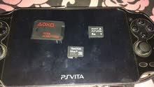 جهاز PsVita مستخدم مع مدخل شريحة