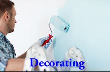 we do all decorating and painting work overall in Bahrain