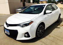 For sale 2015 White Corolla