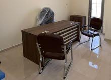 مكتب  وكراسي استعمال كلش قليل