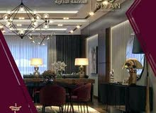 شقة 250م للبيع (سوبر لوكس+التكييفات) في العاصمة الادارية