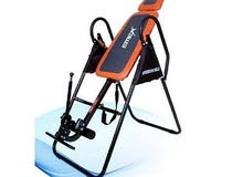 Inversion Table to help reduce back pain and stress release