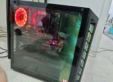 جهاز جيمنج بحالة الوكالة rog strix 2060 super مع شاشة 144hz curv