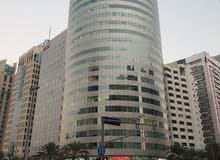 مكاتب بزنس سنتر للشركات للإيجار فى شارع النجدة-والخالدية/أبوظبى بأسعار مناسبة