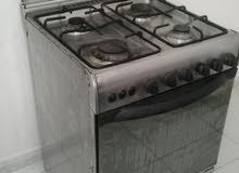 (4) BURNER GAS COOKER WITH OVEN