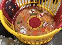 دائره بلاستك للاطفال