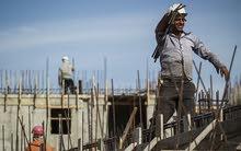 عمال بناء.
