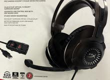 HyperX cloud revolver S pro gaming headset with DS4 back attachment