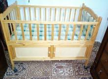 سرير أطفال خشب ممتاز