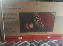 """شاشه TOSHIBA  """"65    4KSMART  ULTRA HD"""