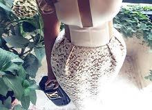فستان ملبوس لبسة وحدة للبيع