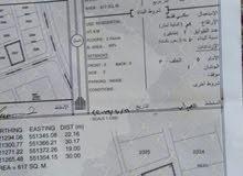 للبيع أرض ف حي السعاده المعيمير 4