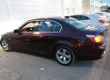 للبيع سيارة بحالة رائعة  BMW موديل 2006.... فئة الخامسة   2300cc