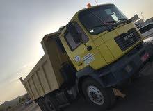 للبيع شاحنة مان 18 متر سكس وَيْل موديل 2002