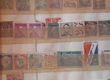 طوابع بريدية قديمة لمختلف الدول الأوروبية العربية  الإفريقية