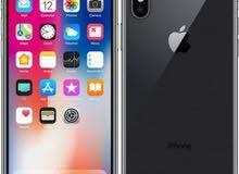 ايفون x جهاز كلش جديد مع ملحقاتة وهذا تلفوني 07706843040
