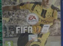 للبيع شريط FIFA17 بحاله جيدة للبيع