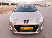 Peugeot 308 car for sale 2012 in Muscat city
