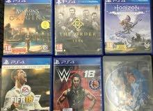 سيديات PS4 للبيع
