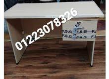 مكتب خشب 2 درج
