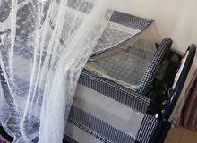 سرير وعربايه بحاله ممتازه / استخدام بسيط