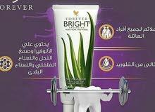 معجون تبيض اسنان