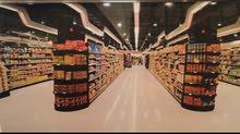 خريطة سوق مواد غذائية معمارية وإنشائية للبيع على 4 دينار المتر