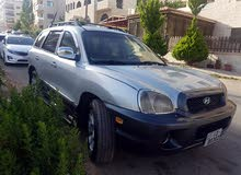 Silver Hyundai Santa Fe 2002 for sale