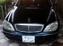 Black Mercedes Benz S 320 2001 for sale