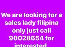 sales lady filipina